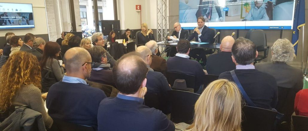 Presentazione bando in Regione Liguria