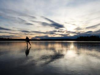 Pattinatore sul ghiaccio