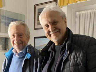 Gilberto Salmoni e Gian Piero Alloisio