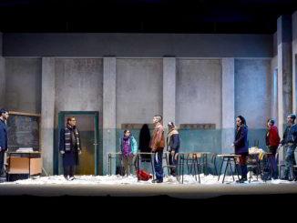La classe (una foto di scena; Credit: ph Federico Riva)