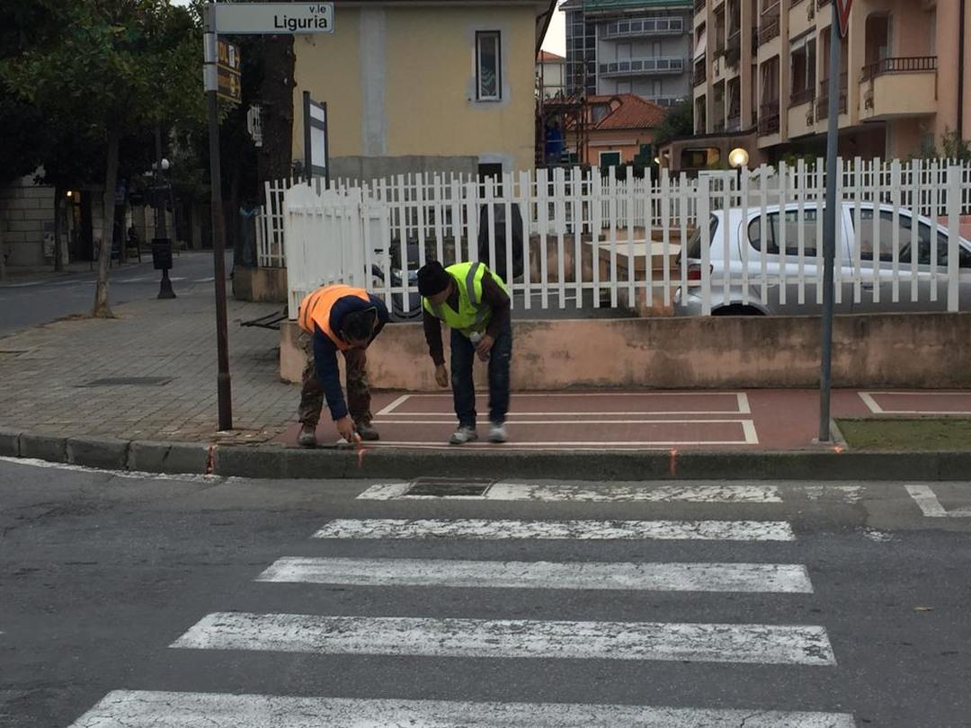 Lavori superamento barriere architettoniche Albenga 02