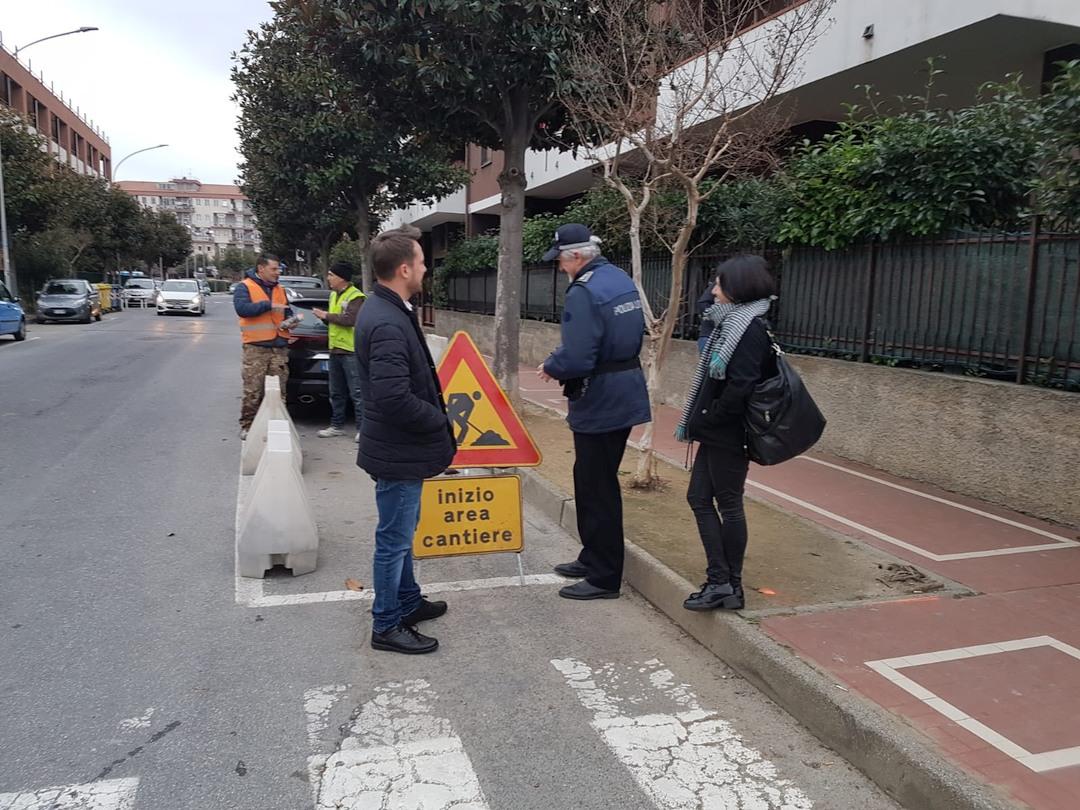 Lavori superamento barriere architettoniche Albenga 04