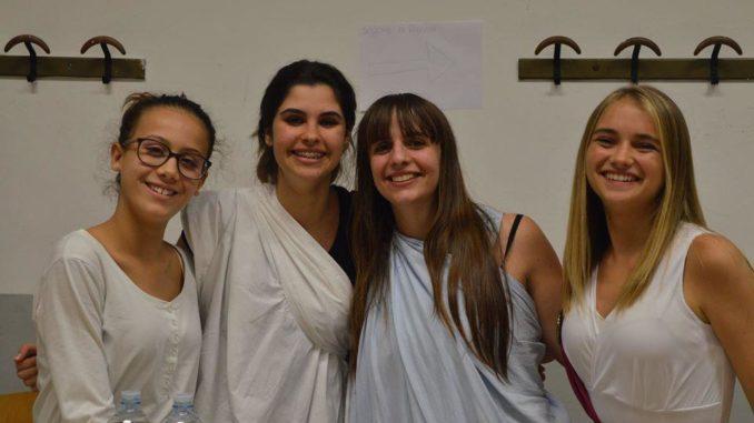Studentesse del Liceo Giordano Bruno di Albenga