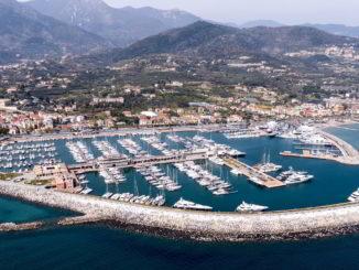 Vista della Marina di Loano