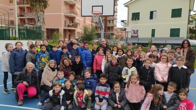 Nuovo campo basket ad Andora
