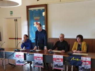 Presentazione ad andora del Rally Ronde Val Merula