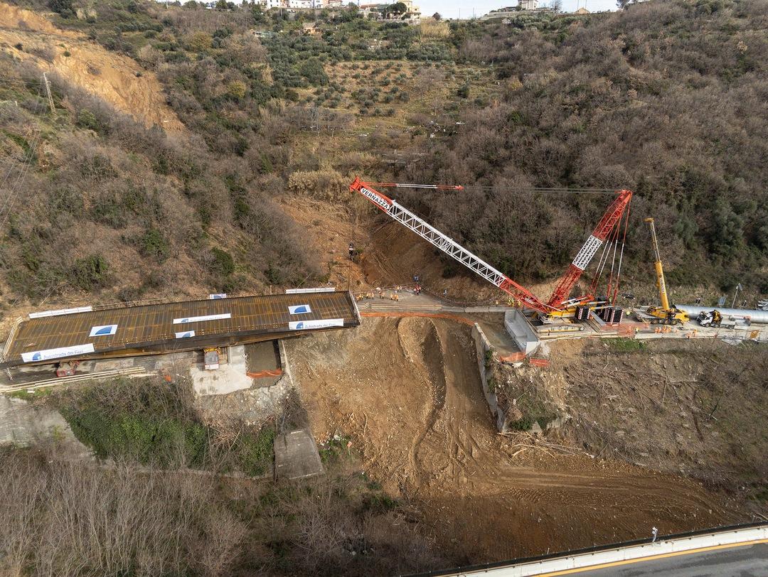 Savona Varo impalcato nuovo viadotto Madonna del Monte 1 01