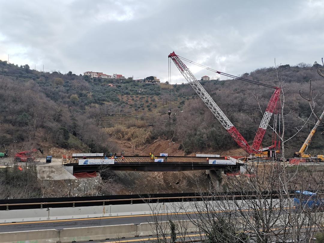 Savona Varo impalcato nuovo viadotto Madonna del Monte 2 02