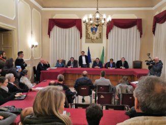 Assemblea in sala Consiglio comunale di Alassio