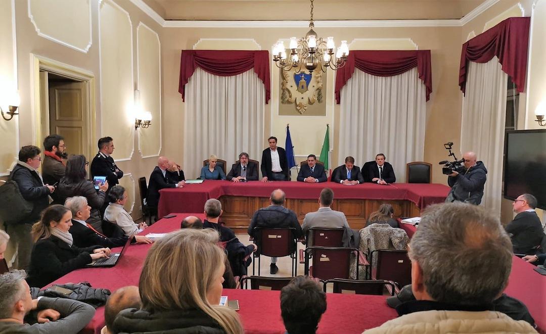 Toti in Consiglio comunale ad Alassio 05