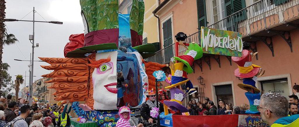 Wonderland al carnevale di Loano