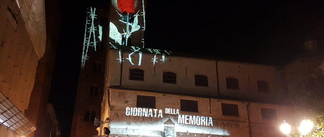 Proiezioni Albenga giorno della memoria