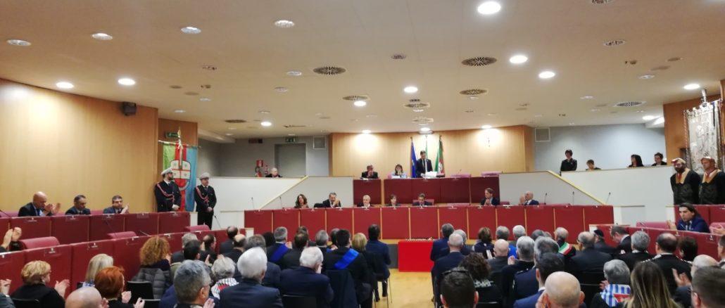 Giorno della Mimoria seduta solenne Consiglio Regione Liguria