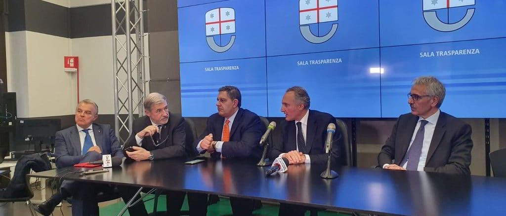 Incontro in REgione Liguria con commissario Mauceri