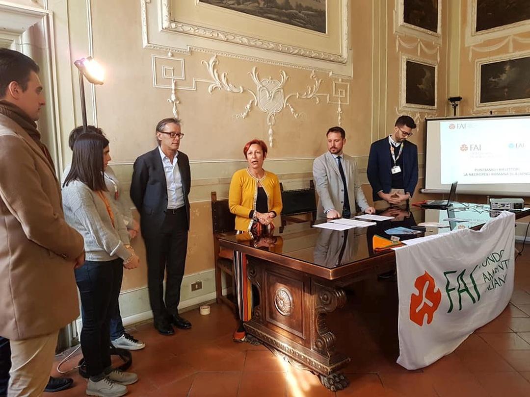 Albenga FAI firma convenzione necropoli 3