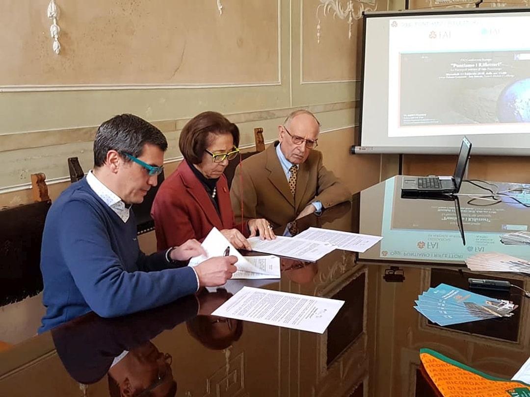 Albenga FAI firma convenzione necropoli
