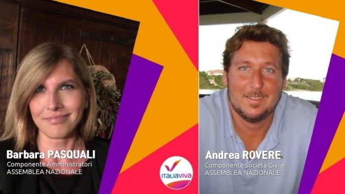 Barbara Pasquali e Andrea Rovere - Italia Viva