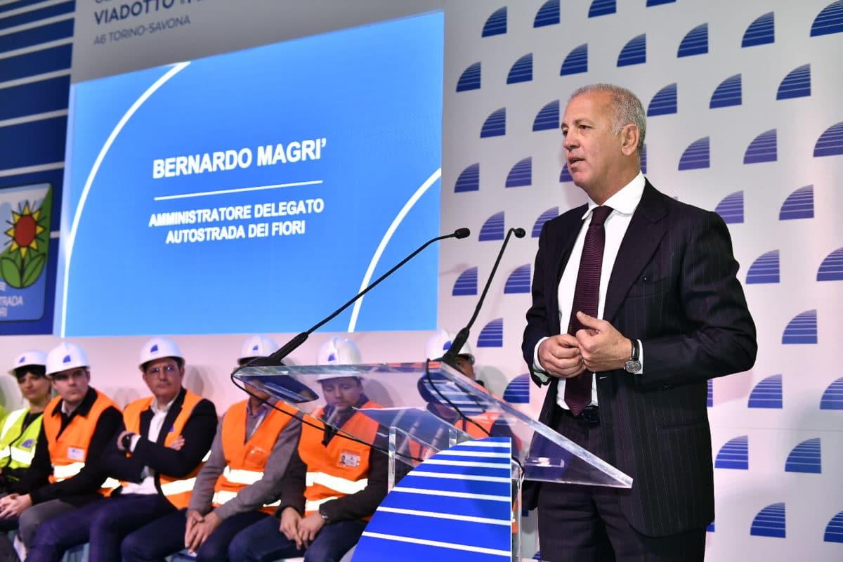 Bernardo Magrì Amministratore Delegato Autostrada dei Fiori