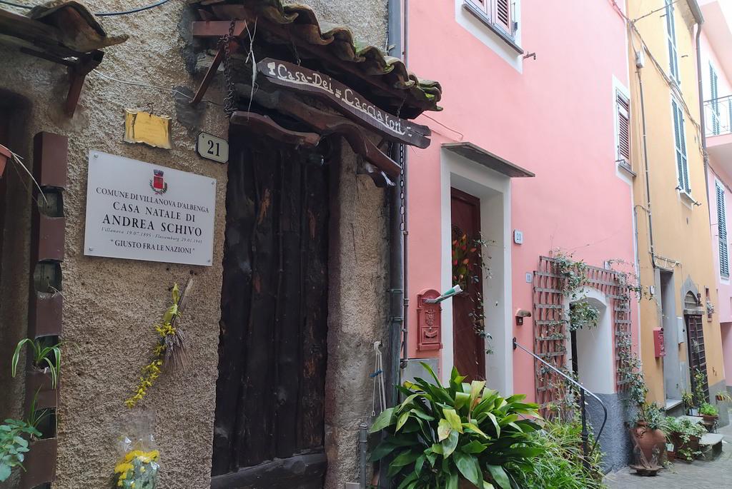 Casa natale di Andrea Schivo a Villanova d'Albenga