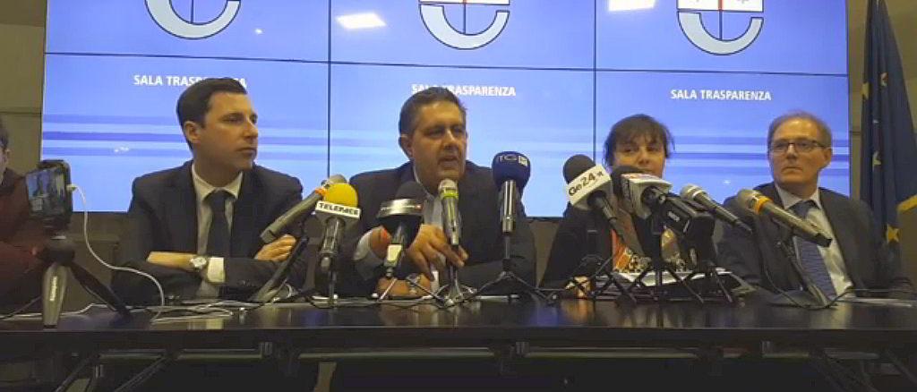 Conferenza Sala Trasparenza Regione Liguria