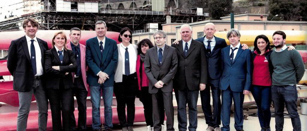 Consiglio direttivo e staff tecnico Canottieri Sabazia