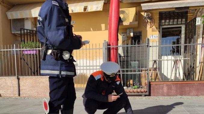 Controlli della Polizia locale di Alassio