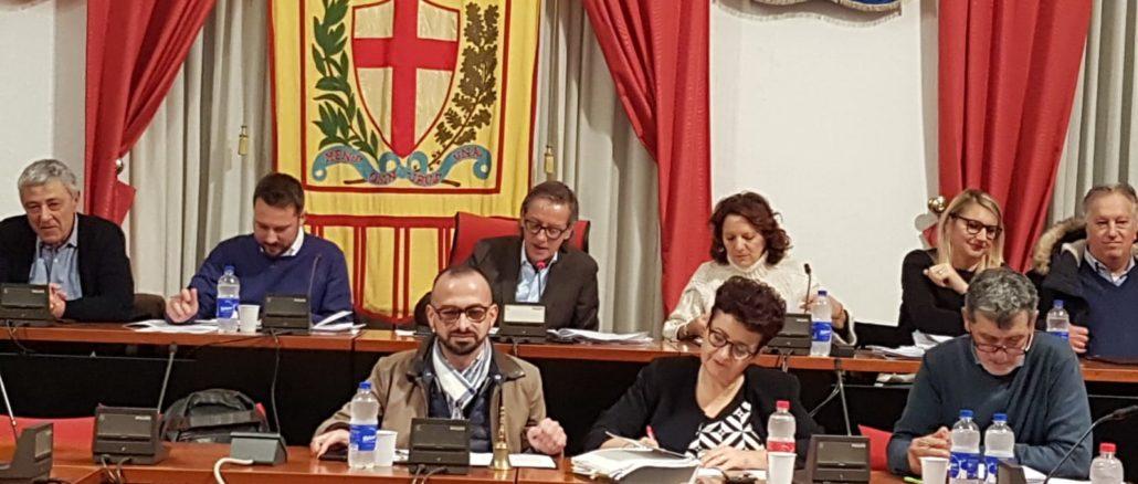 Distilo nel Consiglio Comunale di Albenga