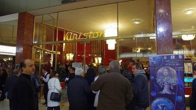 Entrata Ariston di Sanremo
