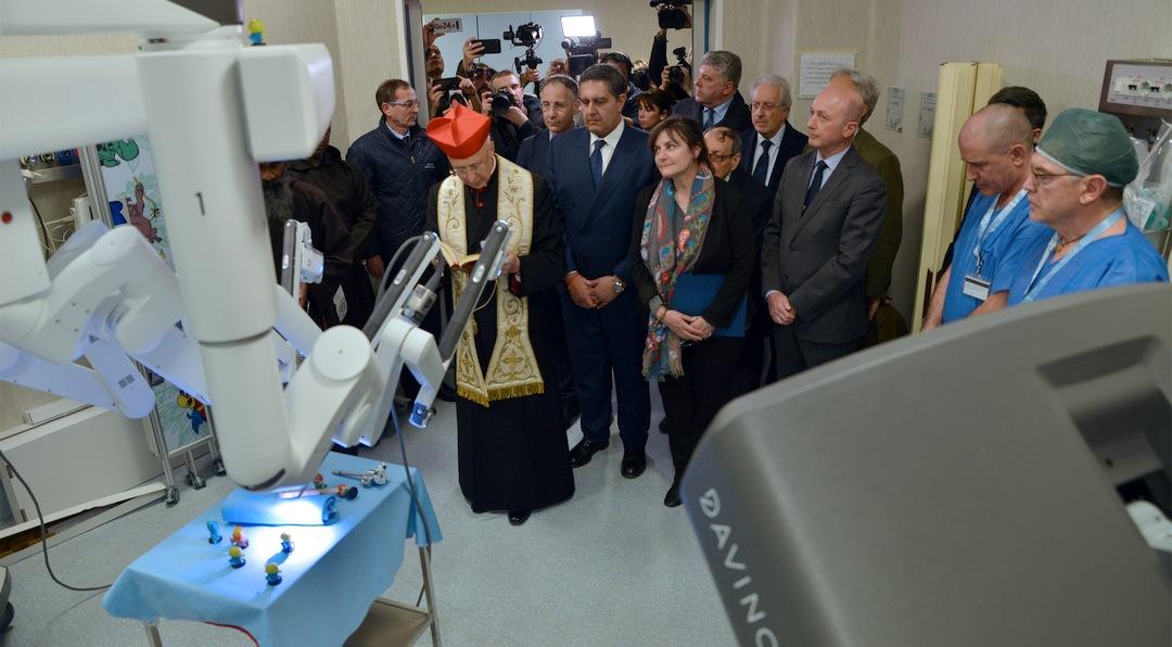 GAslini Centro di Chirurgia Robotica Pediatrica 05