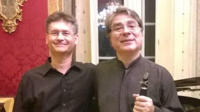 Maurizio Morganti e Alessandro Gagliardi