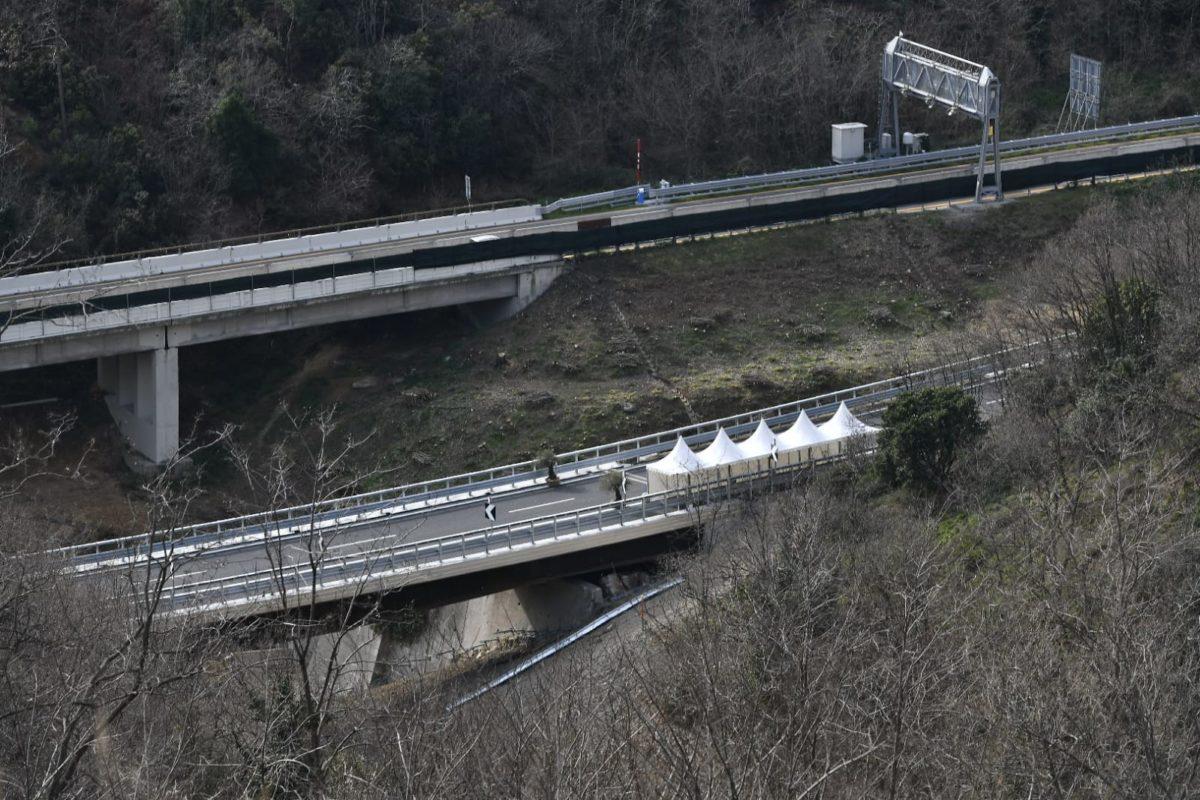 Il nuovo viadotto Madonna del Monte