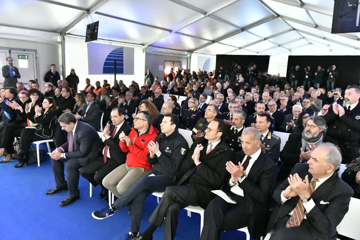 Inaugurazione nuovo viadotto Madonna del Monte