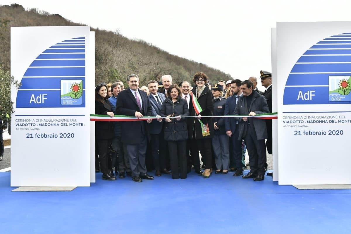 Inaugurazione nuovo viadotto Madonna del Monte 3
