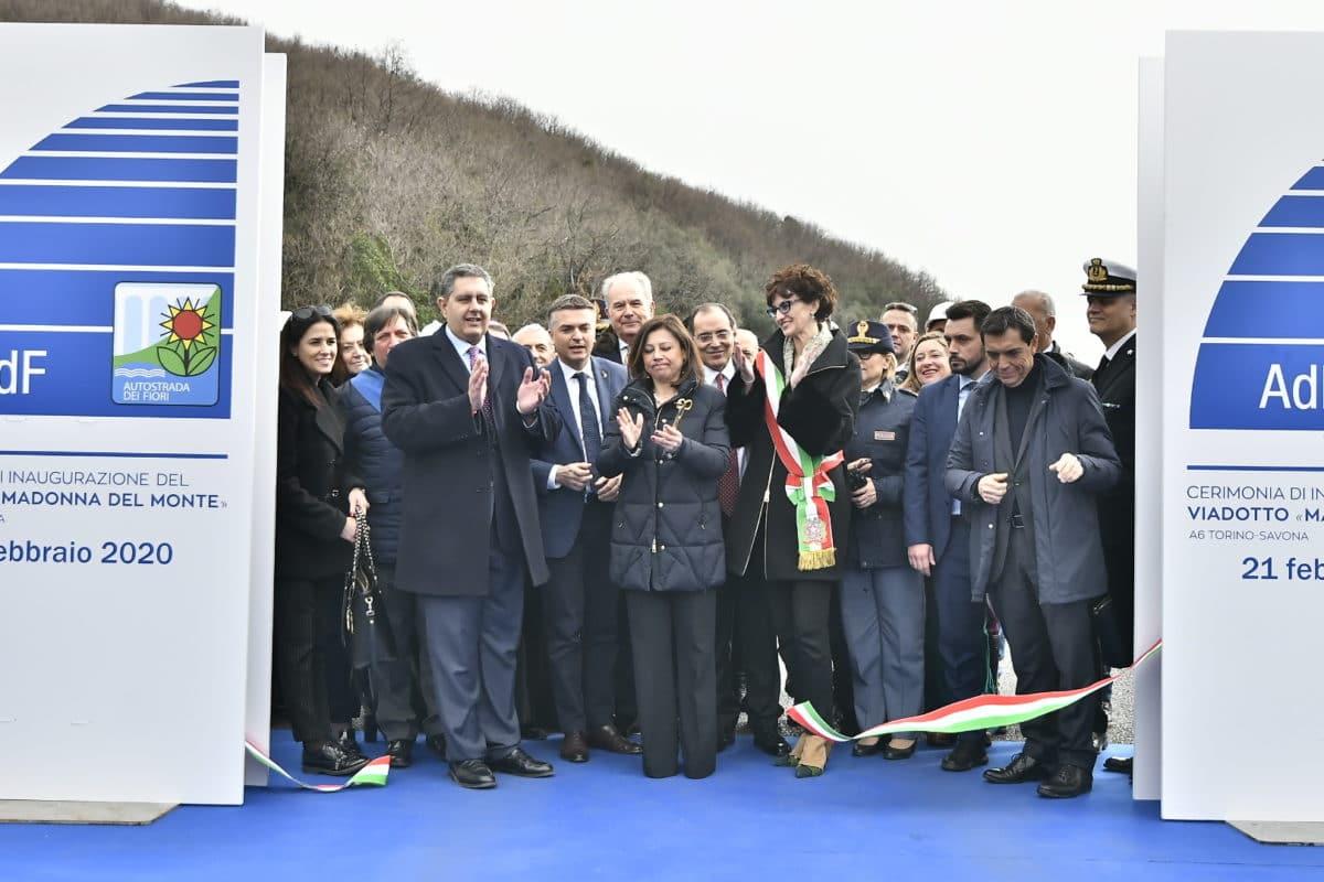Inaugurazione nuovo viadotto Madonna del Monte 5