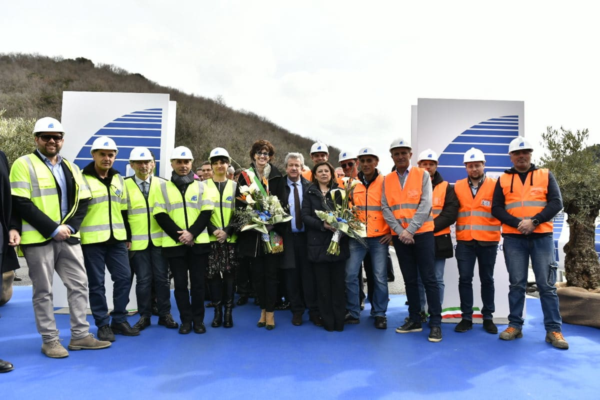 Inaugurazione nuovo viadotto Madonna del Monte 6