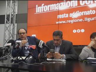 Info coronavirus punto Regione Liguria