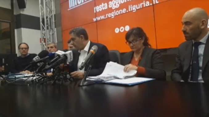 La Conferenza Sala Trasparenza Regione-Liguria