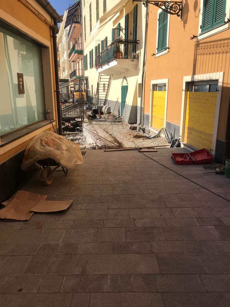 Lavori passeggiata Baracca ad Alassio 02