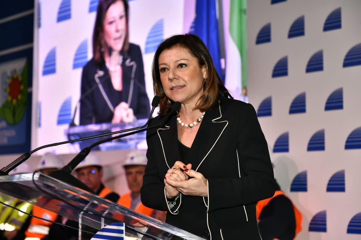 Paola De Micheli Ministra delle Infrastrutture e dei Trasporti