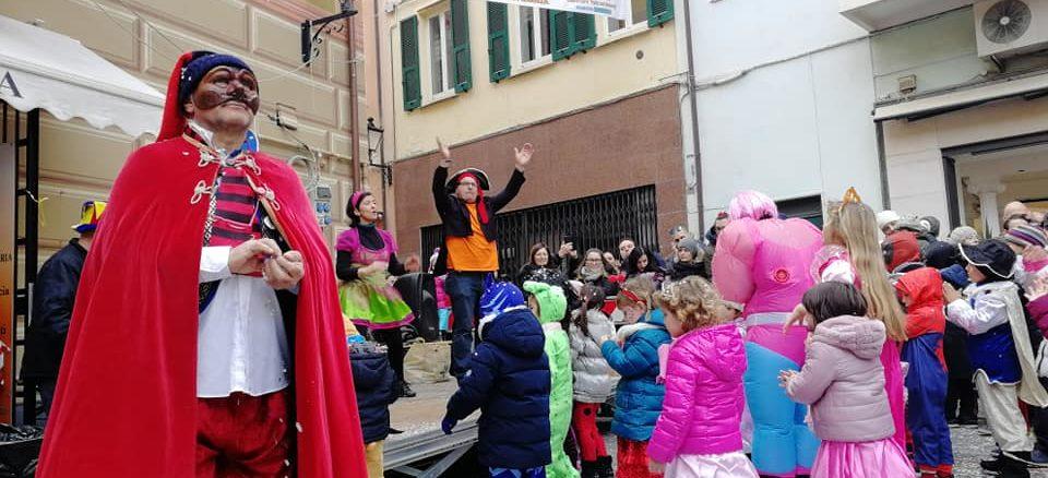 Piazza Canevale dei Bambini a Loano