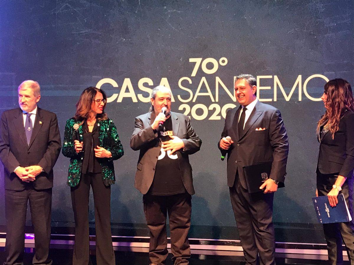 Premiazione a Casa Sanremo 09
