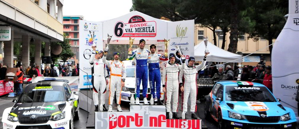 Rally Ronde della Val Merula vincitori 2019