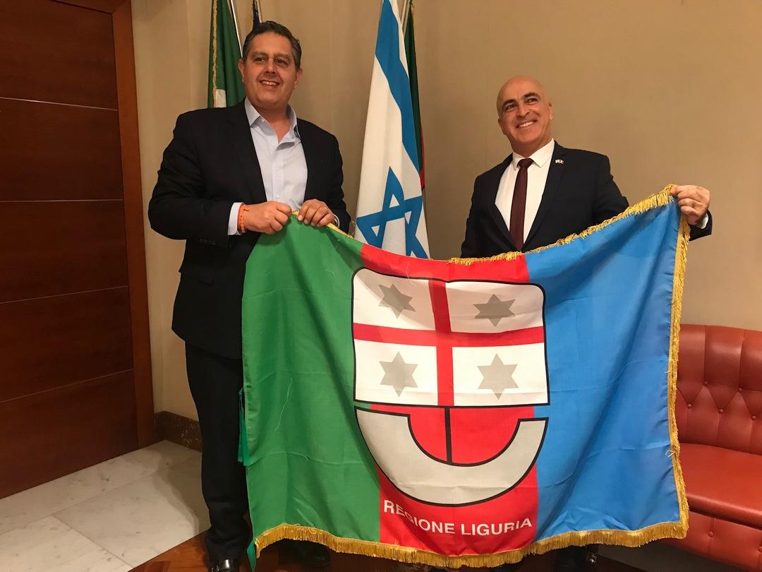 Regione Liguria visita ambasciatore Israele 01