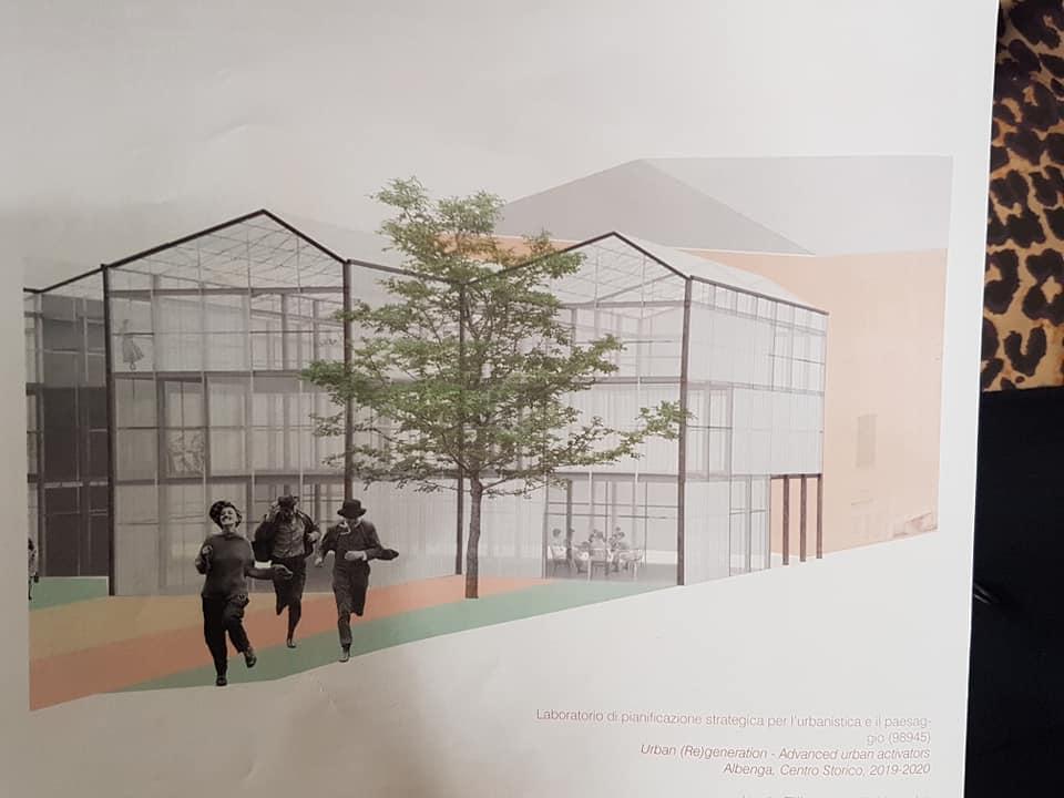 Riqualificazione urbana dell'ex ospedale di Albenga il progetto dei ragazzi del DAD 3