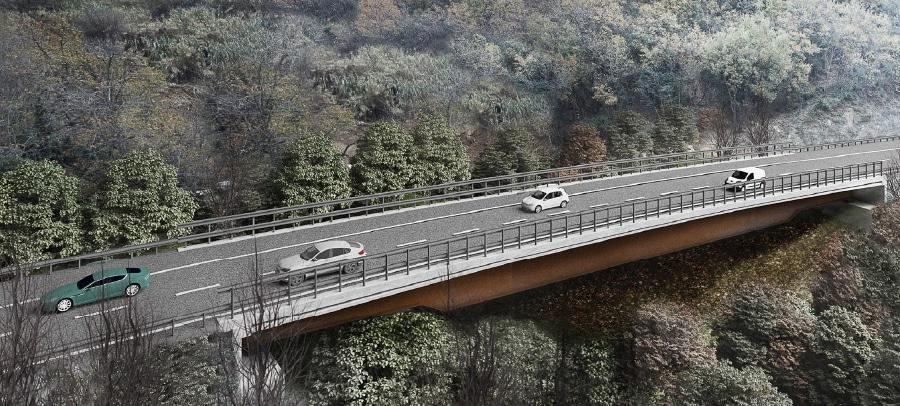A6 inaugura Savona nuovo viadotto Madonna del Monte