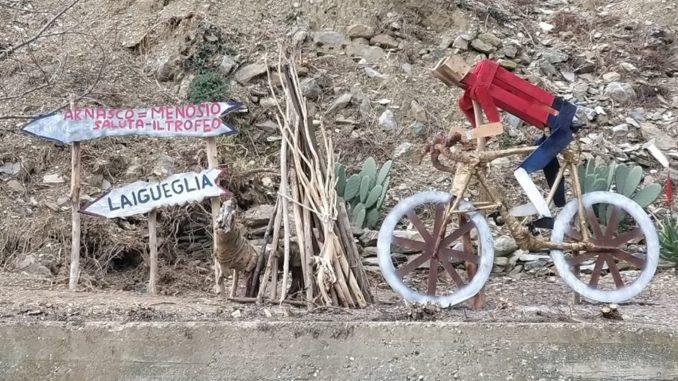 bicicletta Arnasco Laigueglia