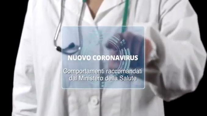 coronavirus ministero salute