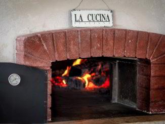 Un forno a legna
