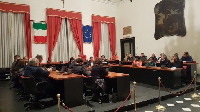 Incontro Anpas nel Municipio di Albenga