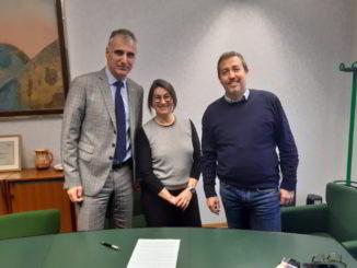 Alessio Berta, Laura Pagliari e Andrea Valle